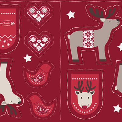 Cut Me Out Reindeer Red