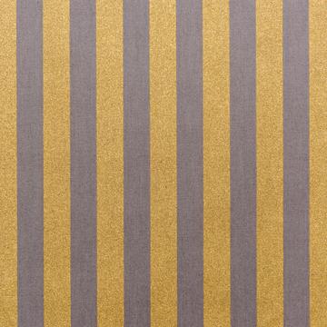 Grey Gold Stripe