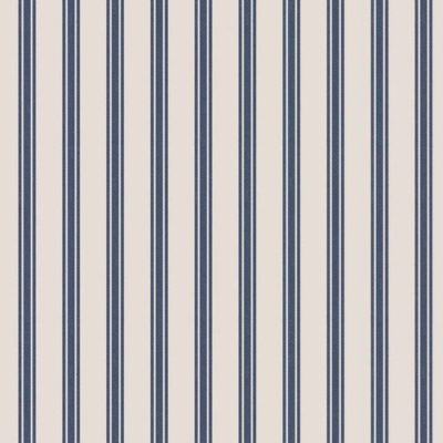 Navy Ticking Stripe
