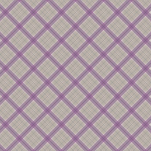Soft Purple Check