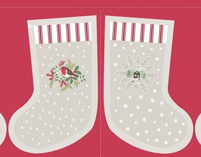 Cream Countryside Stocking