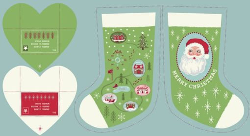 Green North Pole Stockings