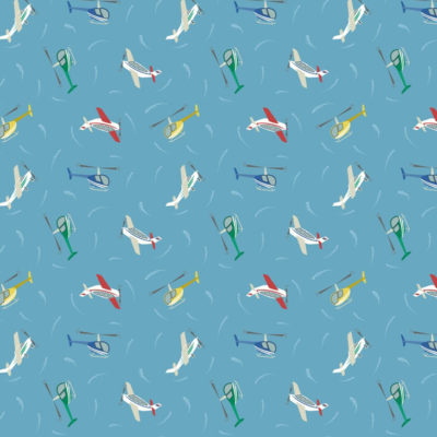 Planes Blue