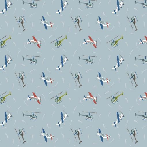 Planes Light Blue