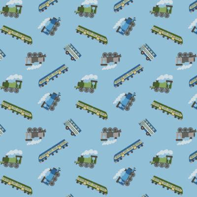 Trains Blue