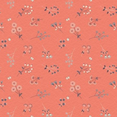 Hedgerow Flowers Peachy Coral