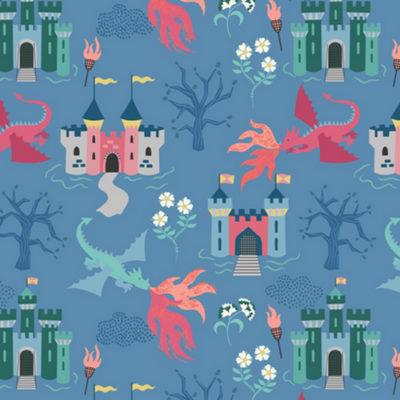 Dragon Castle Light Blue
