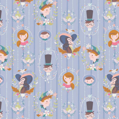 Neverland Darling Wall Periwinkle