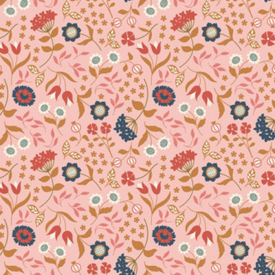 Country House Floral Pink