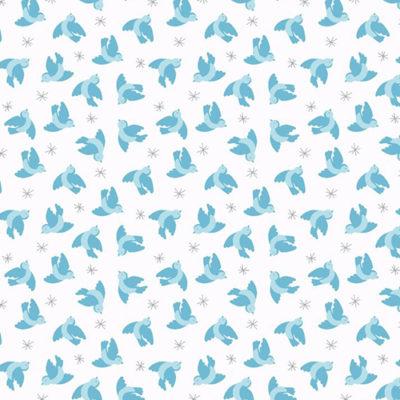 Flying Bluebirds Cream