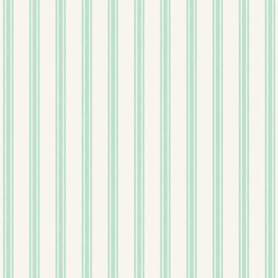 Mint Ticking Stripe