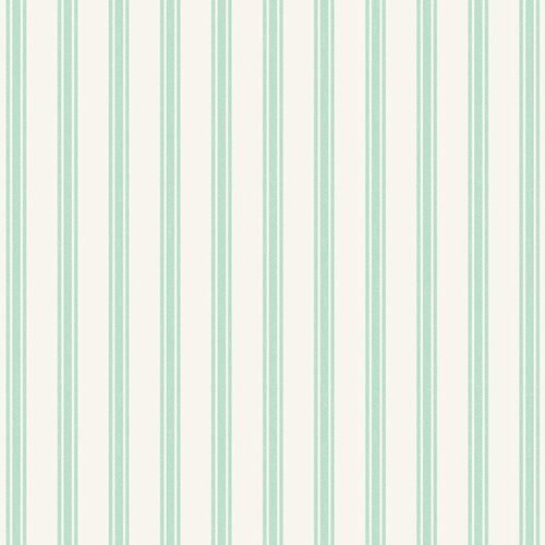 Mint Ticking Stripe
