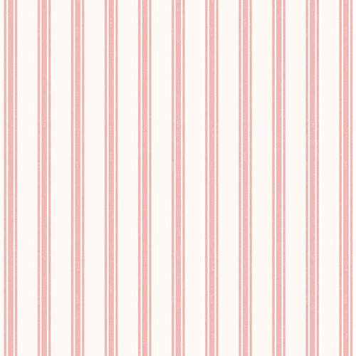 Rose Ticking Stripe