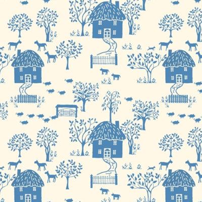 Cottage Lane Blue