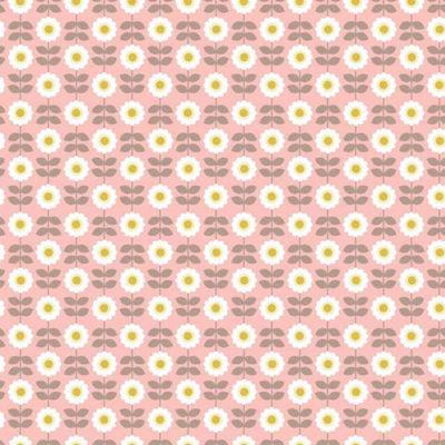 Retro Daisy Pink
