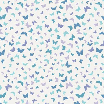Butterflies Blissful Blue