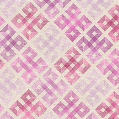 Geo Twirl Hot Pink