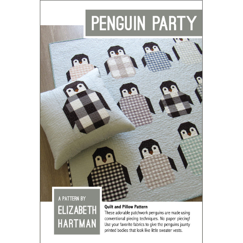 Penguin Party Pattern