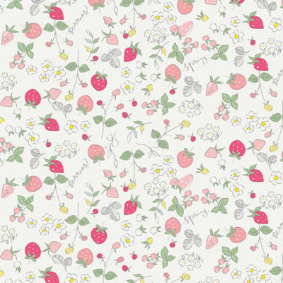 Bolt End Serendipity Strawberries Cream