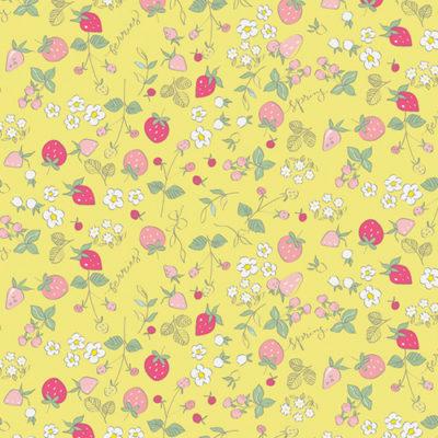 Serendipity Strawberries Yellow