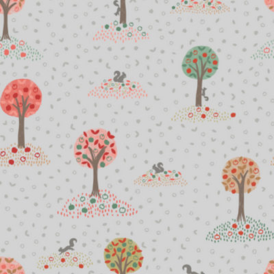 Squirrel Orchard Light Grey