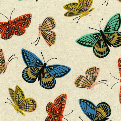 Monarch Natural Metallic Canvas