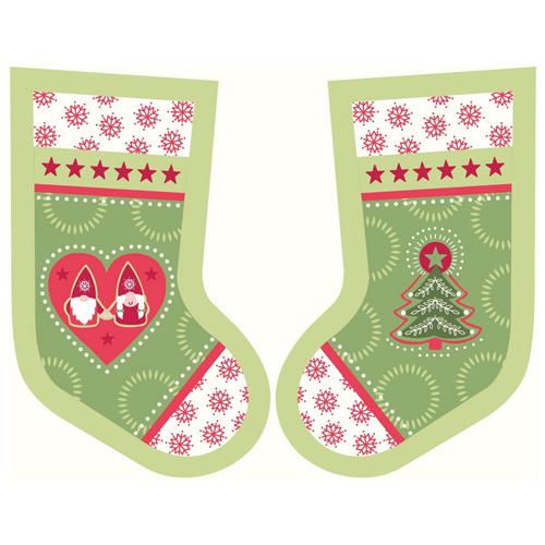 Hygge Christmas Stockings Green