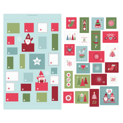 Hygge Christmas Advent Calendar Icy Blue