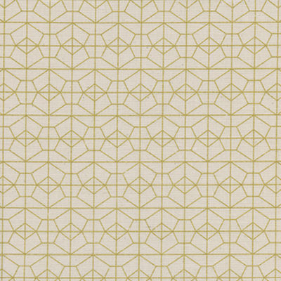 Geo Grid Natural Metallic
