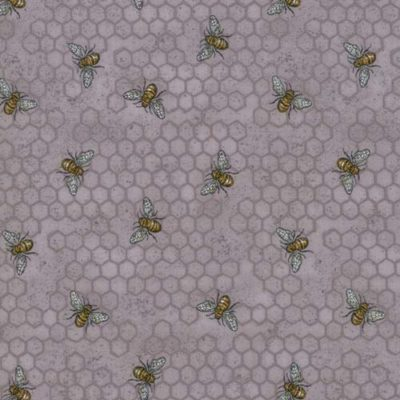 Busy Bees Dove Grey