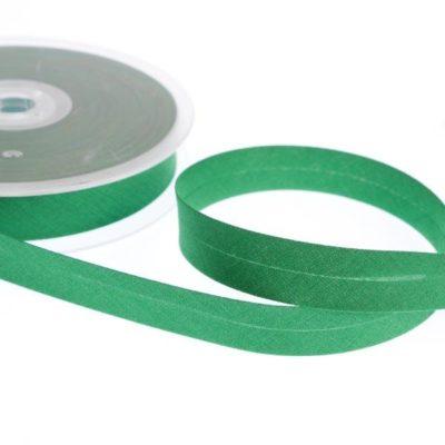 Bias Binding 18mm Centre Fold Green