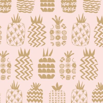 Pineapples Pink