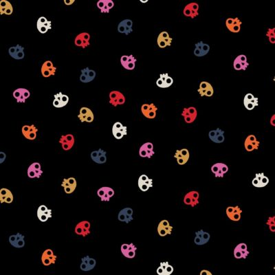 Skulls Black